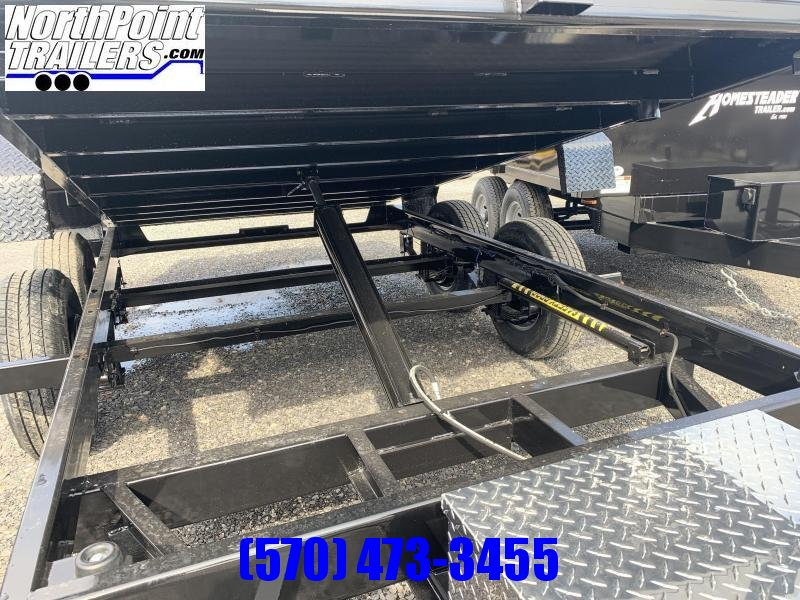 2021 Cam Superline 6 x 12 Advantage Dump Trailer - Black - 9998 GVWR
