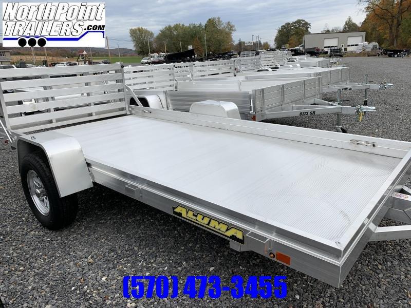 2021 Aluma 6812H Utility Trailer W/ BI-FOLD TAILGATE