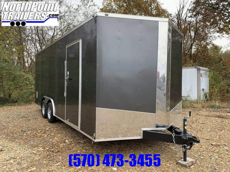 2019 Spartan Cargo SP8.5x20 Enclosed Trailer - Charcoal Gray