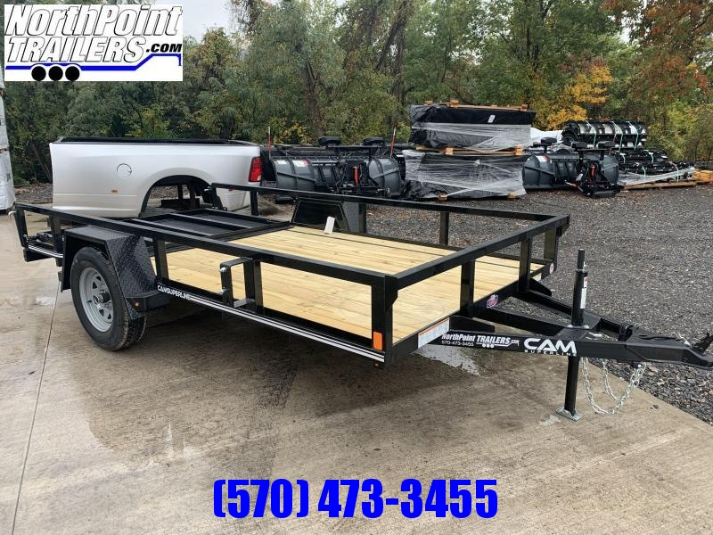 2021 Cam Superline 7x12 Tube Top Utility Trailer