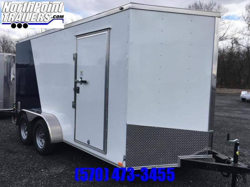 2020 Spartan Cargo SP714TA Cargo Trailer - Two-Tone - Silver/Indigo Blue