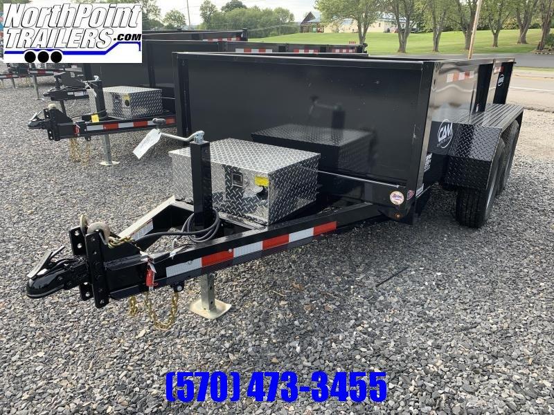 2021 CAM 5x10 Dump Trailer - 7k GVWR