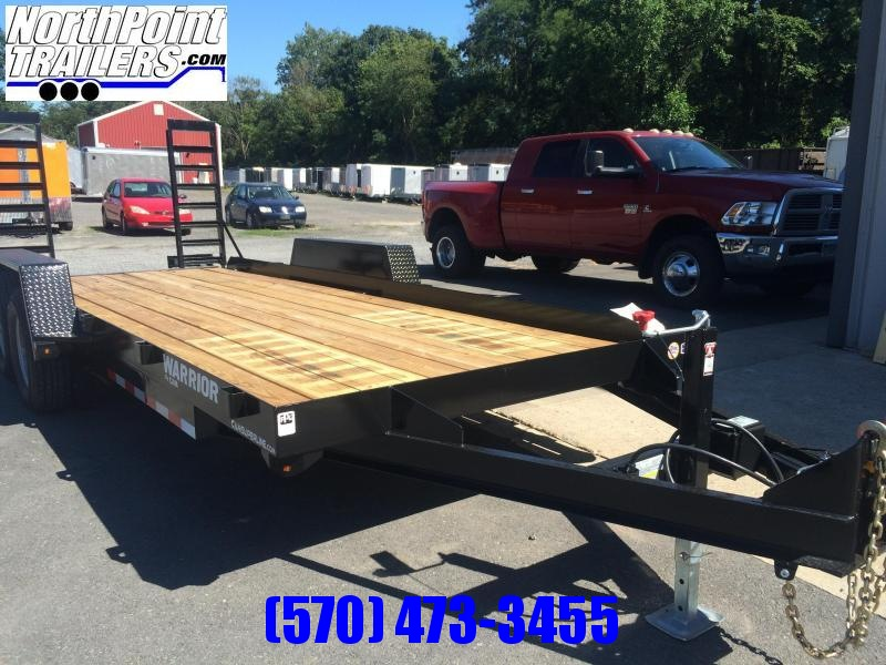 2021 CAM Warrior - 102 x 18' Equipment Trailer - 9900 GVWR