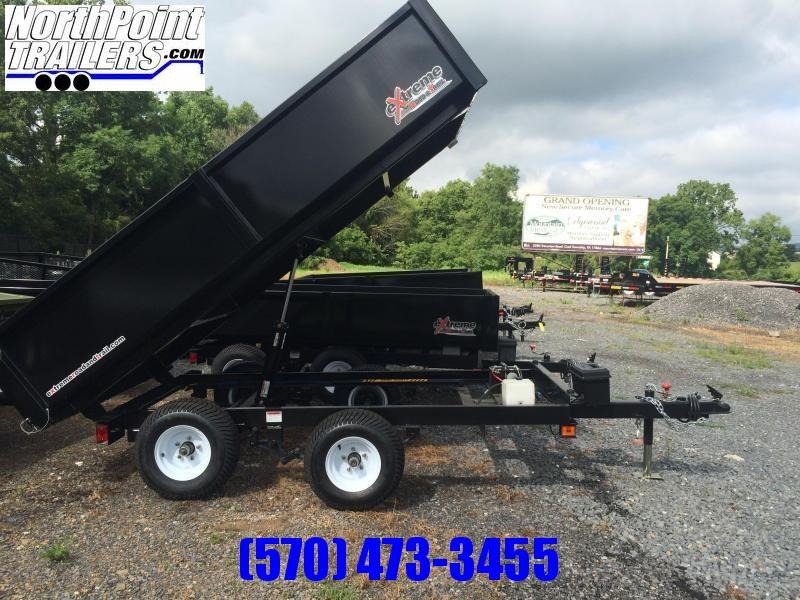 2021 XRT-418 Dump Trailer - One-Piece gate w/ Coal Door