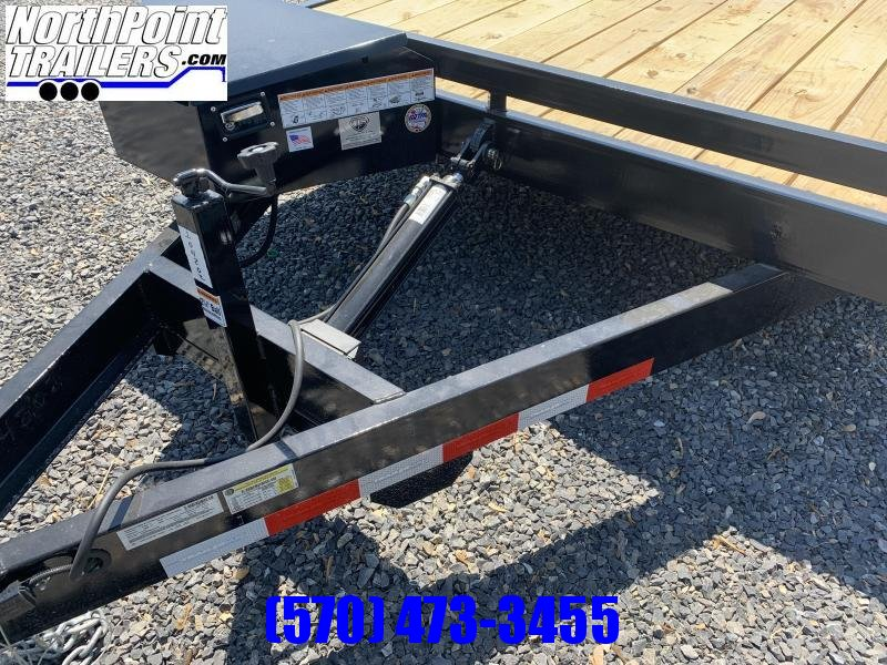 2021 TrailerMan 20'_10K Power Tilt Car Trailer Car / Racing Trailer