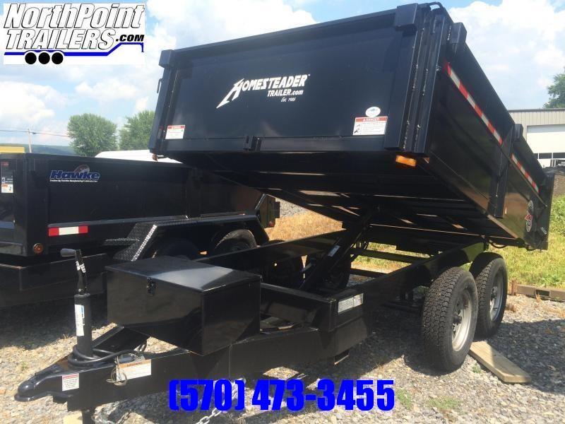 2021 Homesteader 610MB Dump Trailer - 9950# GVWR