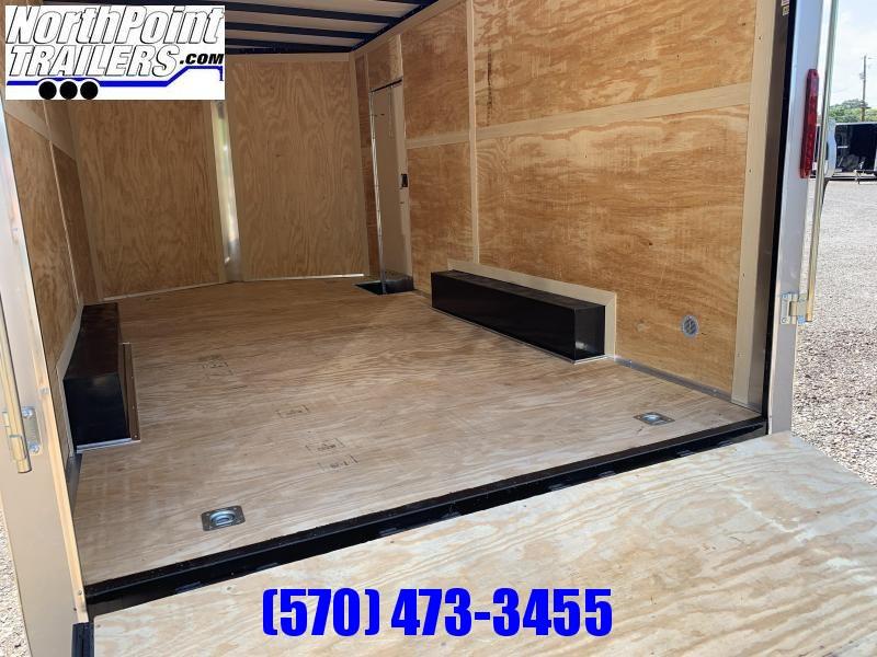 """2021 Homesteader 816IT - 8 x 16' Car/UTV Trailer - Ramp Door - Gray - 84"""" Interior"""