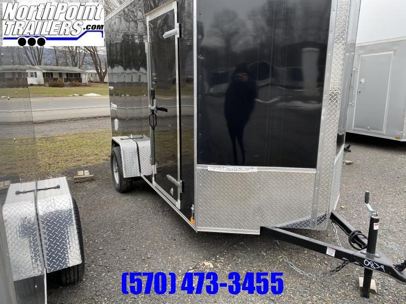 2021 Homesteader 612IS Enclosed Cargo Trailer - Ramp Door - Black - 7' Interior