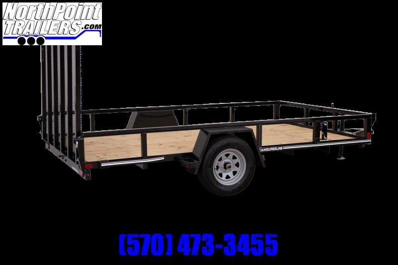 2021 CAM 5x10 Utility Trailer - 2990 GVWR