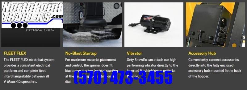 SnowEx VX-1500SX - 1.5 Cu. Yd. In Bed Salt Spreader