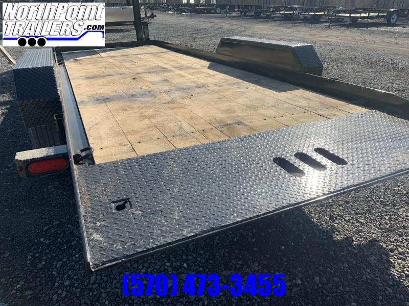 2021 Cam Superline CAM Split Tilt Gooseneck - 5'_16' Tilt - 8K Axles Equipment Trailer