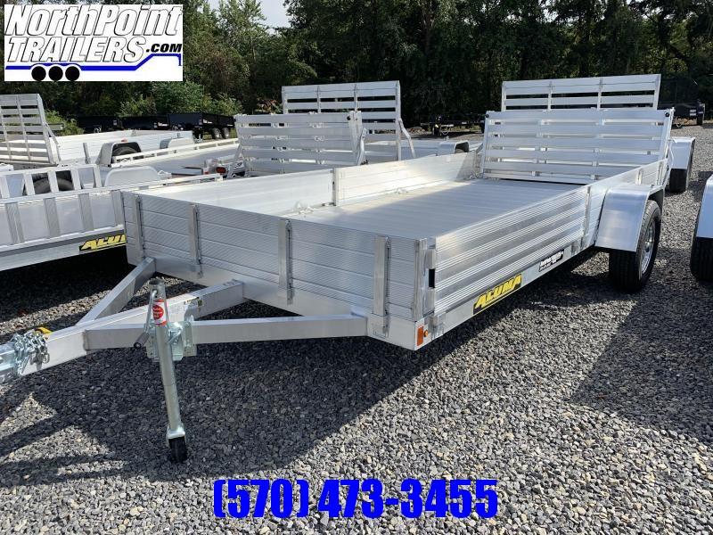 2021 Aluma 8115SR - ATV Utility Trailer - Side load w/ Bi-Fold Gate
