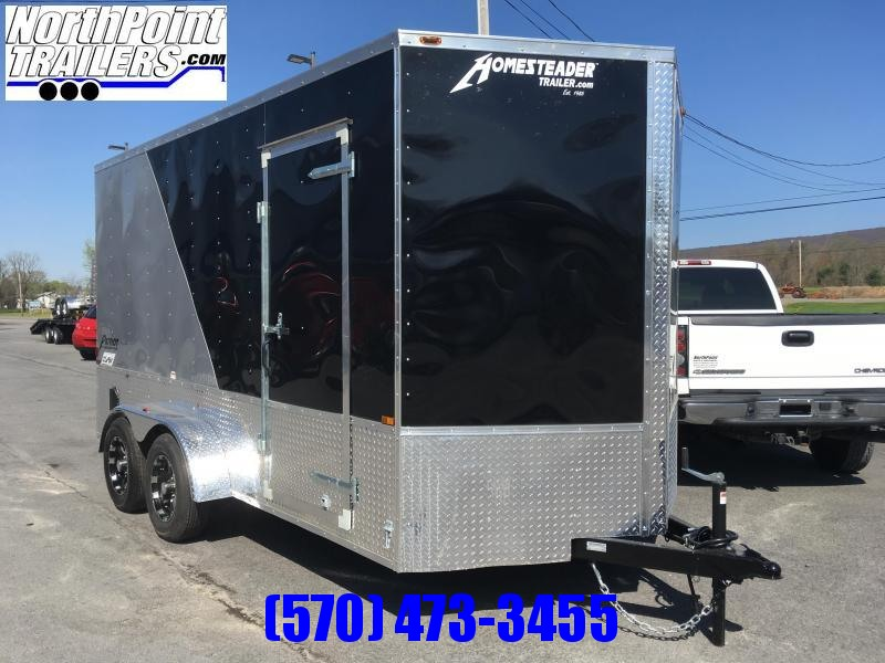2021 Homesteader 714IT w/ OHV Package - 7' Interior - Two-tone - Silver/Black