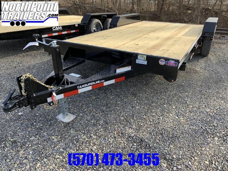 2021 Cam Superline 18' Car Hauler - w/ Removable Fender