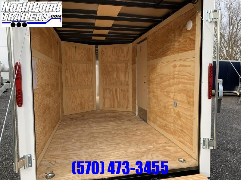 2021 Homesteader 610IS Enclosed Trailer - SILVER - RAMP DOOR