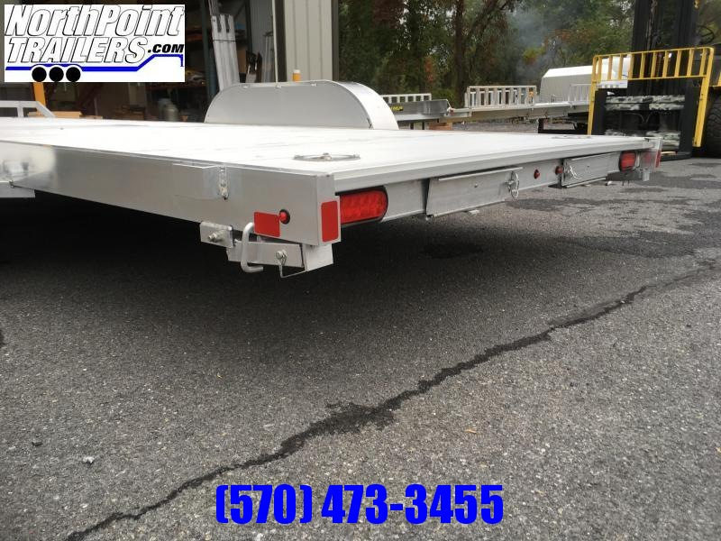 "2022 Aluma 82""x16'  Car Hauler w/ Pull-out Ramps"