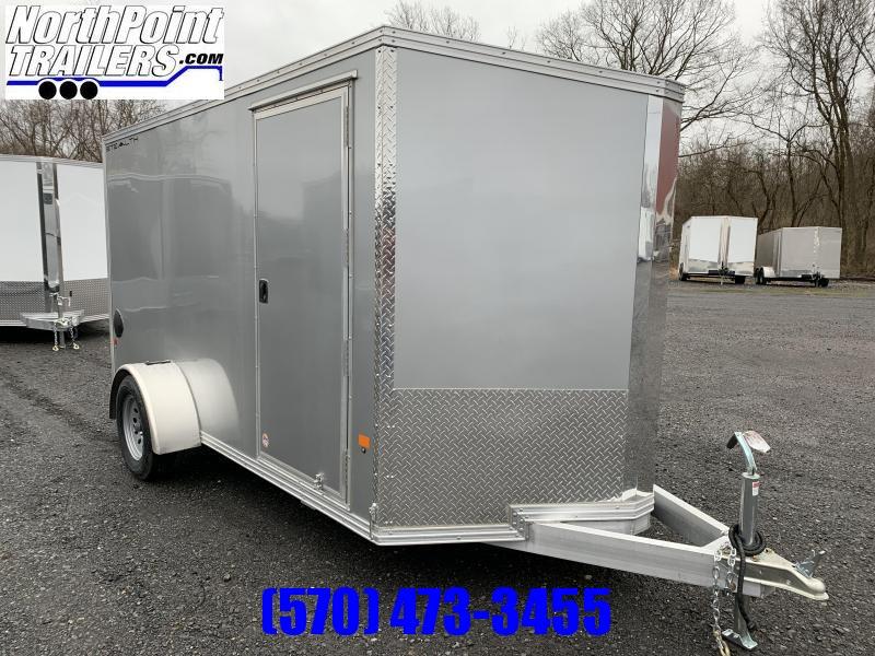 2020 CargoPro Stealth C6X12 Aluminum Cargo Trailer - Silver
