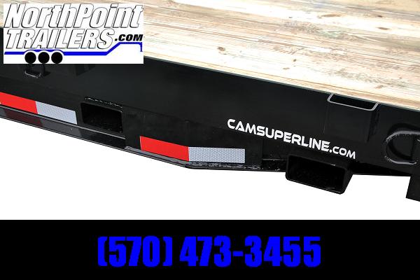 2021 CAM Superline 7x18 - 14K GVWR Equipment Trailer