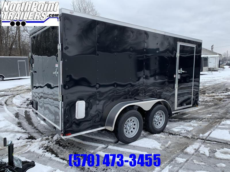 2021 Spartan Cargo 7x14TA Cargo Trailer - Black
