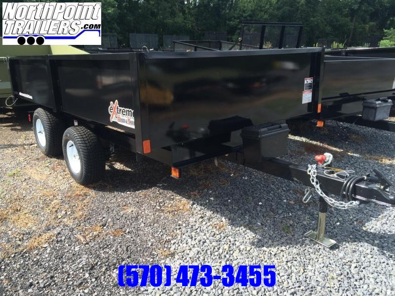 2021 XRT-418 Dump Trailer - One-Piece gate w/ Coal Door
