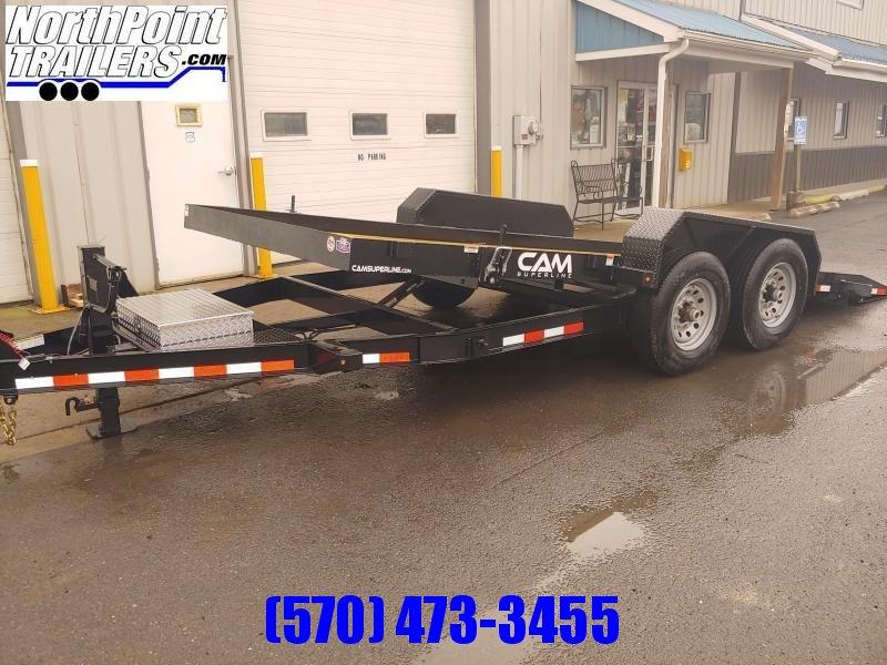 2021 CAM 18' Full Tilt Equipment Trailer - 14000 GVWR