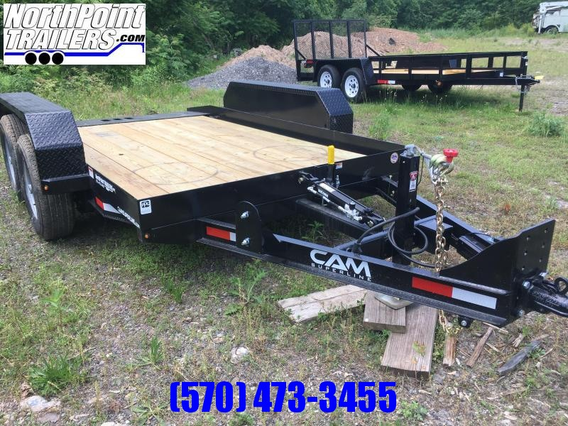 2019 Cam Superline 6x12 Tandem Axle Full Tilt Trailer