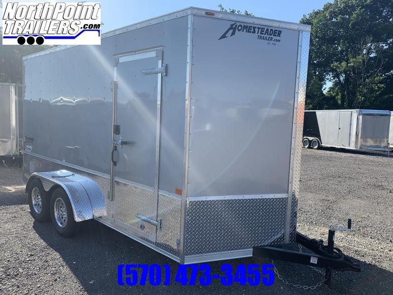 2021 Homesteader 714IT w/ OHV Package - 7' Interior  - Silver
