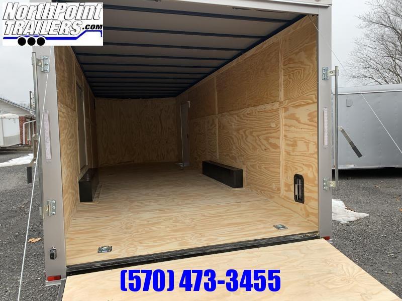 "2021 Spartan Cargo SP8.5x24 Enclosed Trailer - 84"" Interior - Arizona Beige - 5.2K Axles"