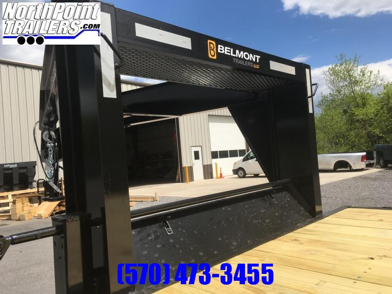 Belmont Machine GN24-14K Gooseneck - Adj. Beavertail w/ Slide-out Ramps