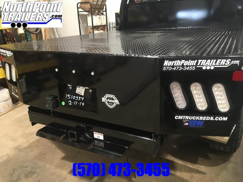 """CM RD Truck Bed - 97"""" x 8' 6"""" - DRW Long Bed - 38"""" Frame Rail"""