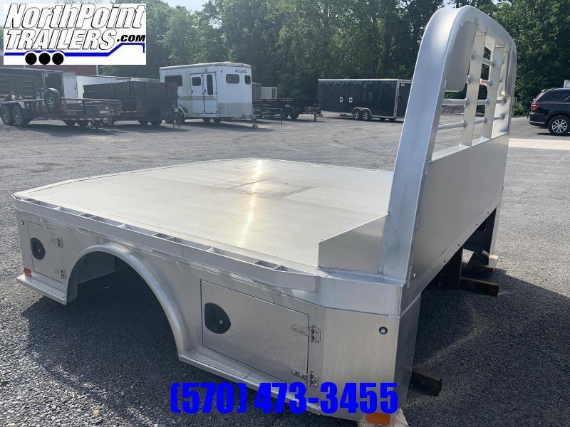 "CM ALSK - 97"" x 8'6"" Aluminum Skirted Bed - 42"" Frame Rail x 58"" C/A"