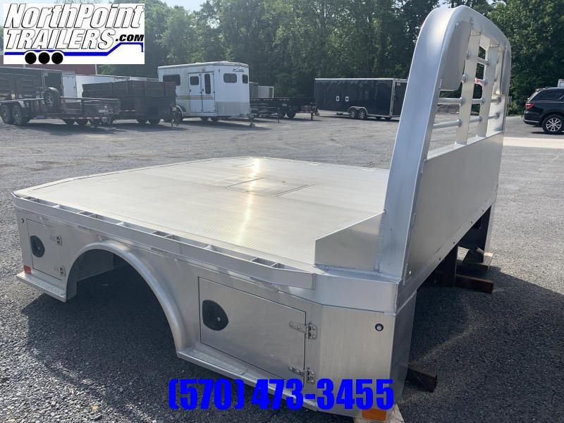 "2020 CM ALSK - 97"" x 8'6"" Aluminum Skirted Bed - 42"" Frame Rail x 58"" C/A"