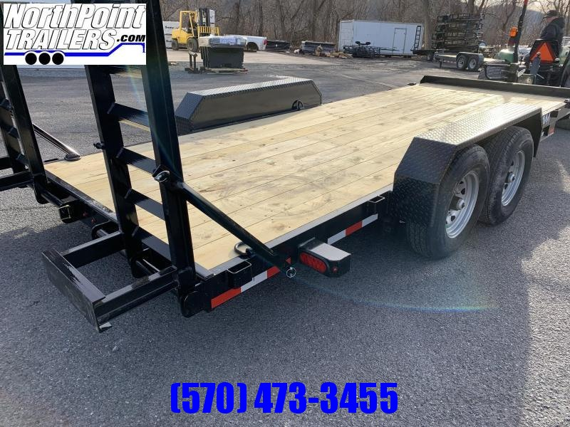2021 Cam - 7CAM20C - 20' Equipment Trailer - 14000# GVWR