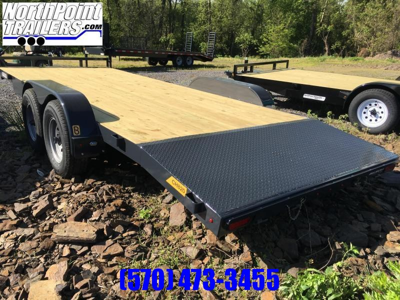 2021 Belmont 20' Car Hauler - 10K - BLACK