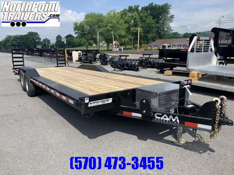 2021 Cam Superline 22+2' Drive-over Fender - 7K Axles Equipment Trailer