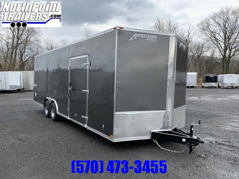 2020 Homesteader 824IT - 8 x 24' Car Trailer Car / Racing Trailer