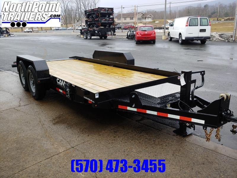 2021 CAM 20' Full Tilt Equipment Trailer - 14000 GVWR