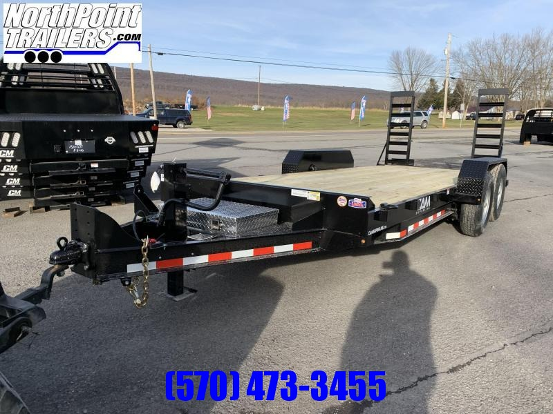 2021 Cam - 7CAM18C - 18' Equipment Trailer - 14000# GVWR