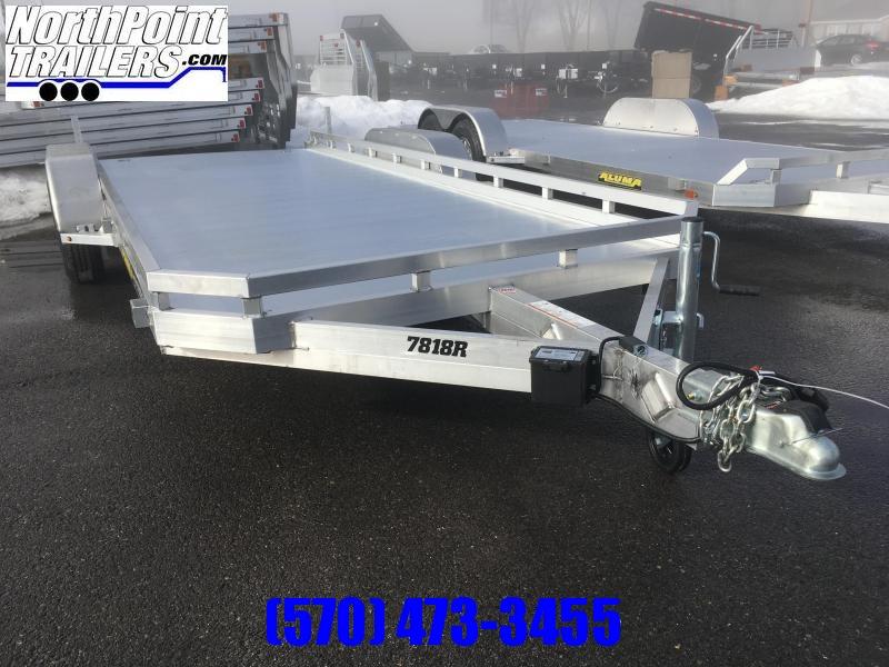 2022 Aluma 7818R Tandem Axle Utility Trailer