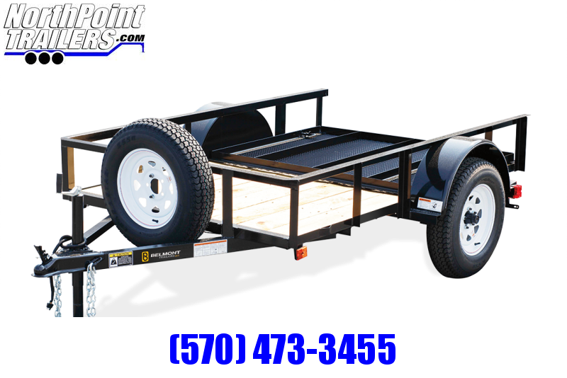 2021 Belmont Belmont 5x10 Angle Frame - Budget Utility Trailer