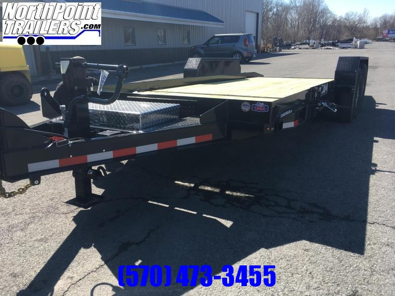 CAM SUPERLINE 19' Split Deck Tilt Trailer - 15' Stationary - 4' Tilt - 14000# GVWR