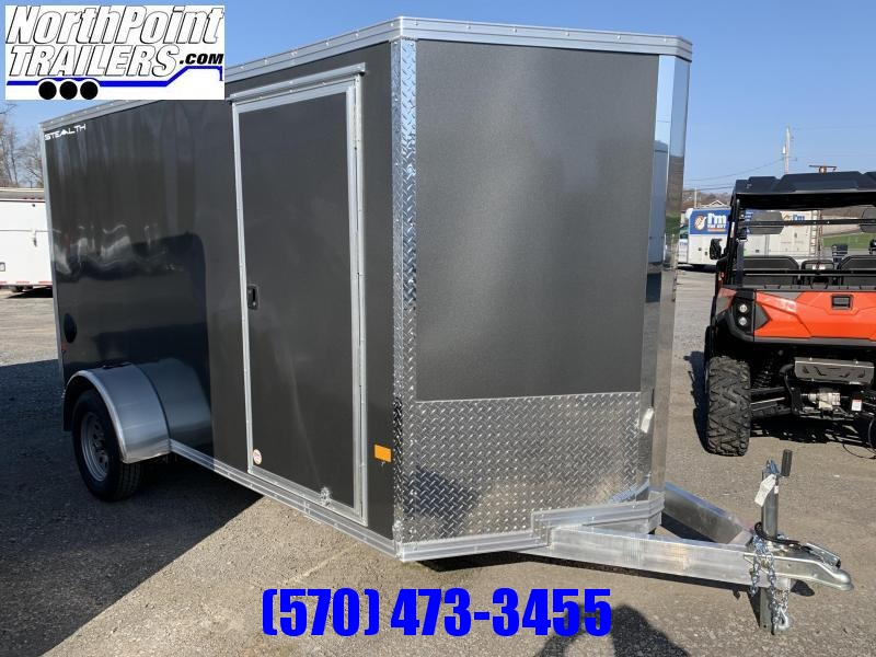 2021 CargoPro Stealth C6X12 Aluminum Cargo Trailer - Charcoal _ ON ORDER