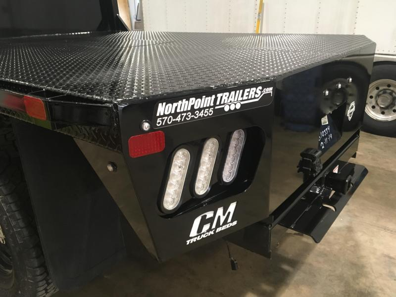 """CM RD2 Truck Bed - 84"""" x 8' 6"""" Truck Bed - SRW Long Bed - 38"""" Frame Rial"""