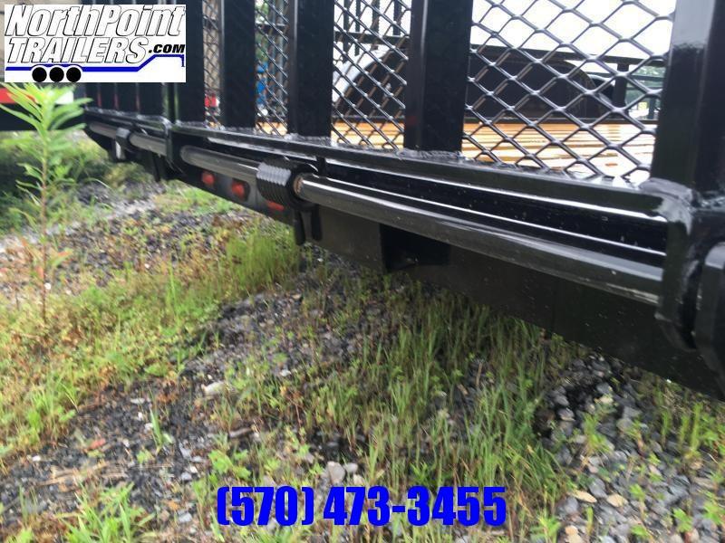 2021 Belmont 7x14 Landscape Trailer - Black