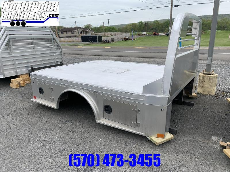 "CM ALSK - 94"" x 9'4"" Aluminum Skirted Bed - 60"" C/A - Cab & Chassis"