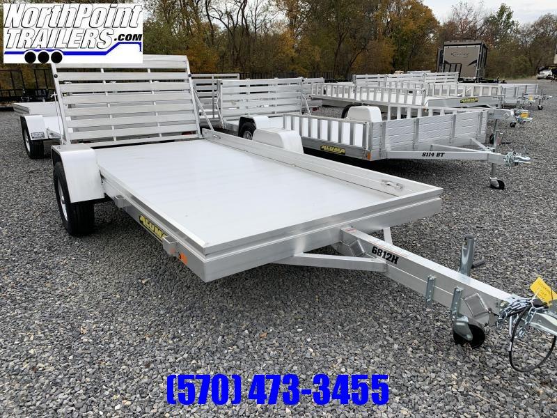 "2021 Aluma 6812H - Aluminum Utility - 68"" x 12'"