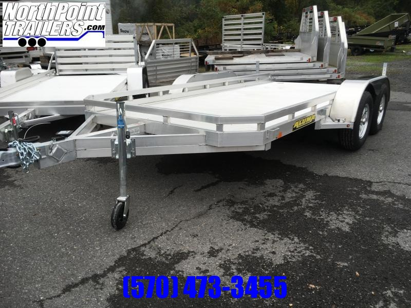 2022 Aluma 7814R Tandem Axle Utility Trailer - Pull-Out Ramps