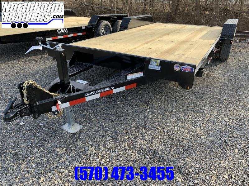 2021 Cam Superline 18' Car Hauler - w/ Removable Fenders