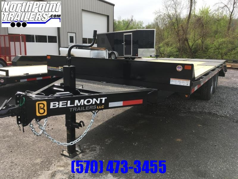 Belmont DO920-14K - Charcoal - Adjustable Beavertail w/ Slide-Out Ramps