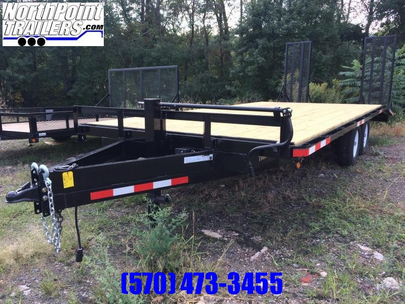 2021 TWF Mfg 20-U Deckover Equipment Trailer